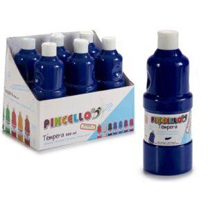 Têmperas Para Pintura Pincello 400 ml Azul escuro