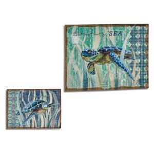Quadro Gift Decor Linho (70 x 3 x 50 cm)