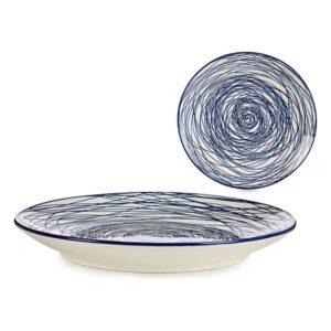 Prato Azul Porcelana Ø 20 cm
