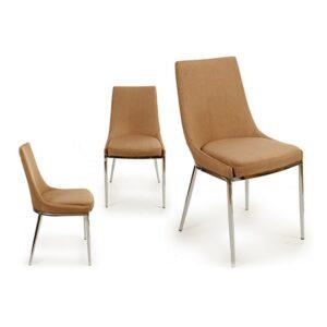 Cadeira de Sala de Jantar Gift Decor Bege (55 x 86,5 x 47 cm)