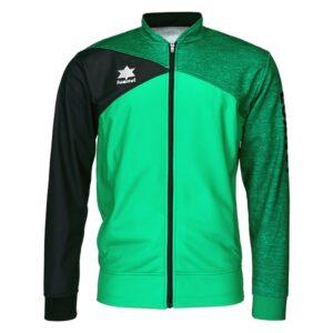 Casaco de Desporto Luanvi Capri Verde Felpa 3XS