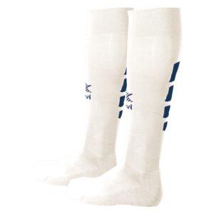 Meias de Futebol Luanvi Tiro Branco/Azul S