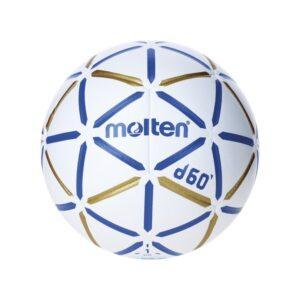 Molten® Bola de Andebol H1D4000-BW Couro Sintético (Tamanho 1)