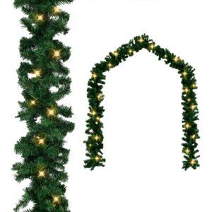 Grinalda de Natal com luzes LED 5 m - PORTES GRÁTIS