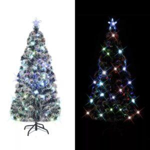Árvore de Natal artificial com suporte/LED 180 cm 220 ramos - PORTES GRÁTIS
