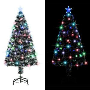 Árvore de Natal artificial com suporte/LED 120 cm 135 ramos - PORTES GRÁTIS