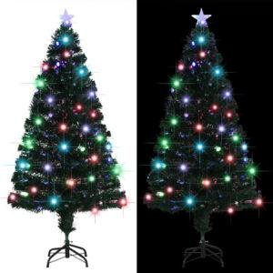 Árvore de Natal artificial com suporte/LED 150 cm 170 ramos - PORTES GRÁTIS