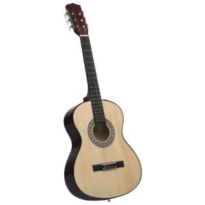 Guitarra Clássica Para Iniciantes  4/4 39 Madeira de Tilia - PORTES GRÁTIS