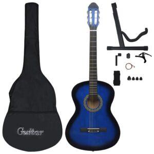 Conjunto 12 Peças Guitarra Clássica Iniciantes 4/4 39