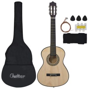 Conjunto 8 Peças Guitarra Clássica Crianças/Iniciantes 1/2 34 - PORTES GRÁTIS