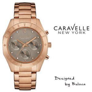 Relógio Caravelle New York® 44L190 - Designed by Bulova