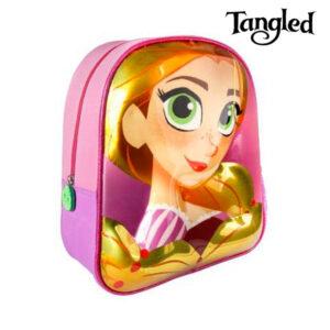 Mochila Escolar 3D Tangled 7983