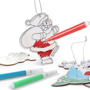 Conjunto de Decorações de Natal DIY (6 pcs) 145899 3