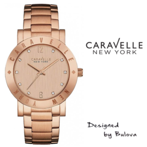 Relógio Caravelle New York® 44L201 - Designed by Bulova