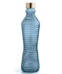 Garrafa Vidro 1 L Azul ESPECIAL B BROTHER