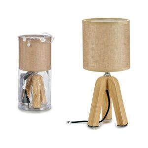 Lâmpada de Mesa Gift Decor Cerâmica (13 x 27,5 x 13 cm) Beige