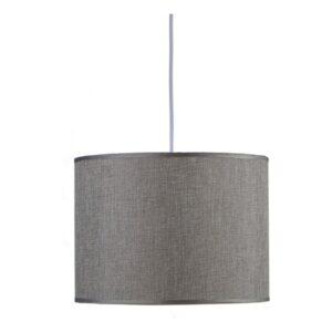 Candeeiro de teto Gift Decor 30 cm Cinzento