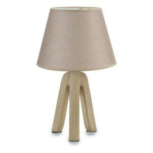 Lâmpada de Mesa Gift Decor Cerâmica Beige