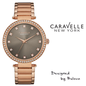 Relógio Caravelle New York® 44L211 - Designed by Bulova