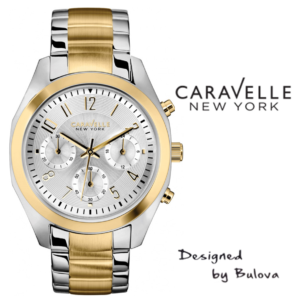 Relógio Caravelle New York® 45L136 - Designed by Bulova