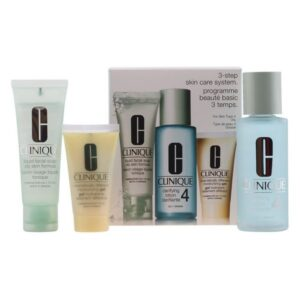 Conjunto de Cosmética Mulher 3 Steps Intro Skin Type Iv Clinique (3 pcs)