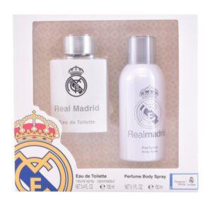 Conjunto de Perfume Homem Real Madrid Sporting Brands (2 pcs)