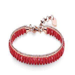 Bracelete feminino Thomas Sabo AIR-A1717-109-10 Vermelho