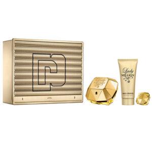 Conjunto de Perfume Mulher Lady Million Paco Rabanne (3 pcs)