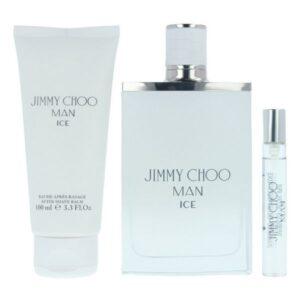 Conjunto de Perfume Homem Ice Jimmy Choo (3 pcs)