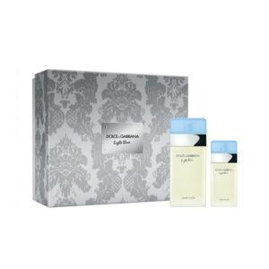 Conjunto de Perfume Mulher Light Blue Pour Femme Dolce & Gabbana (2 pcs)