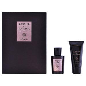 Conjunto de Perfume Homem Colonia Ambra Acqua Di Parma (2 pcs)