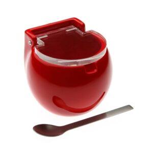 Açucareiro Cerâmica Vermelho