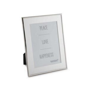 Moldura de Fotos Alumínio Minimalista (1 x 21 x 16 cm)