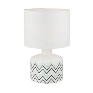 Lâmpada de Mesa Cerâmica (22,5 x 35 x 22,5 cm)