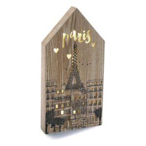 Caixa Decorativa Paris Madeira (3,5 x 34 x 17 cm)