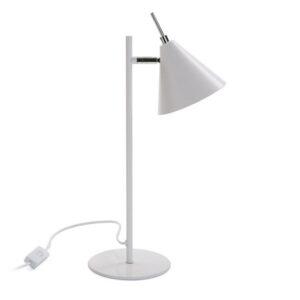 Lâmpada de Mesa Swing White Metal (15 x 41 x 23 cm)