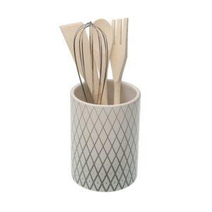 Recipiente para Utensílios de Cozinha DIAMOND Cerâmica
