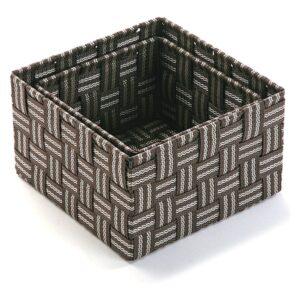 Conjunto de Caixas de Organização Empilháveis Têxtil (2 Peças) (20 x 12 x 20 cm)