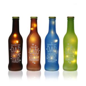 Garrafa LED Cristal Sortidas Enviadas Aleatoriamente