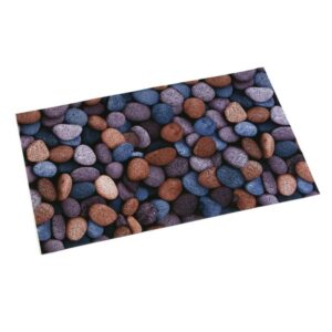 Tapete Stones Poliéster (50 x 2 x 80 cm)