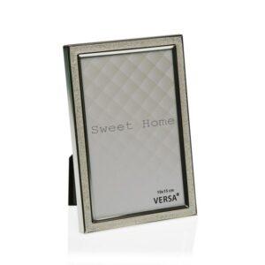 Moldura de Fotos Aço (1,8 x 11,2 x 11,2 cm) Prata