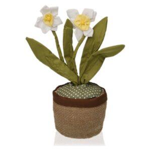 Fixador de portas Têxtil (13 x 37 x 13 cm) Narciso