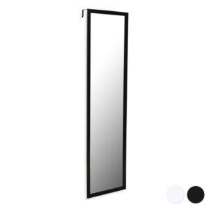 Espelho de parede Metal (120 X 30 x 1 cm) Preto