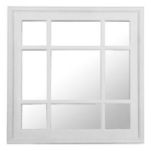 Espelho de parede Branco (60 X 60 x 1 cm)