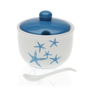 Açucareiro Blue Sea Cerâmica