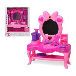Conjunto de Cabeleieiro Infantil Dream Desser 111439 Cor de rosa