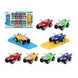 Conjunto veículos Fast Quad 111254 (10 pcs) 111254