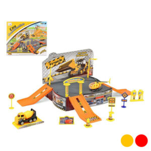 Pista com Rampas City Truck Amarelo