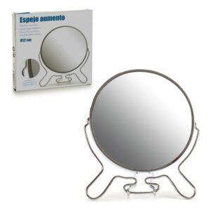 Espelho de Aumento Alumínio 12 cm