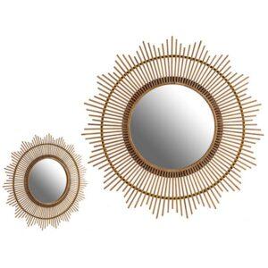 Espelho Gift Decor Natural (100 x 100 x 3 cm)